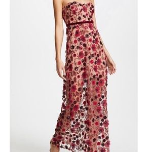 For Love and Lemons Beatrice Strappy Gown